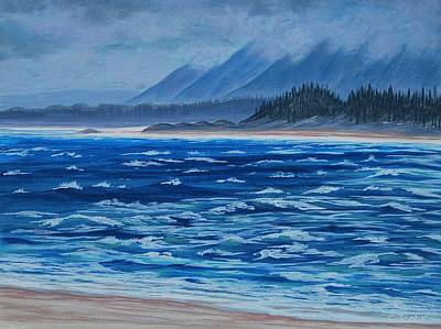 Painting - Vancouver Coast by Cheryl Fecht