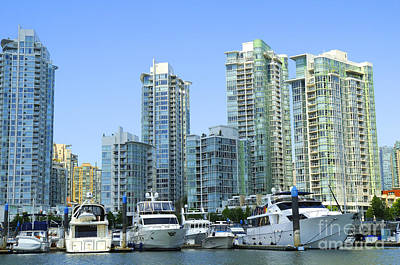 Photograph - Vancouver Harbour by Brenda Kean