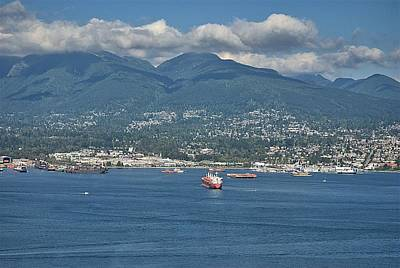 Photograph - Vancouver Harbour by Steven Richman