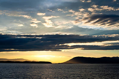 Vancouver Island Sunset Art Print