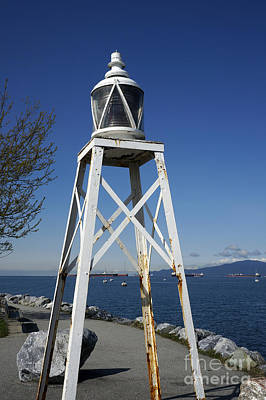 Photograph - Vancouver Lighthouse by John  Mitchell