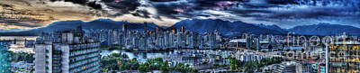 Vancouver Panorama Art Print by Colin Woods