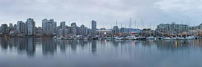 Lake Photograph - Vancouver Panorama by Genaro Rojas