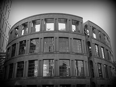 Photograph - Vancouver Public Library by Brian Chase