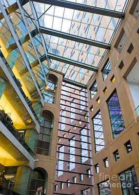 Photograph - Vancouver Public Library by Chris Dutton