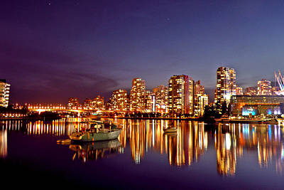 Photograph - Vancouver Reflecting by Brian Chase