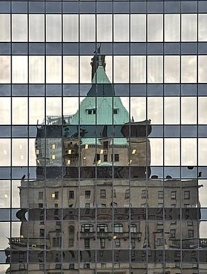 Vancouver Reflections Art Print by Steven Richman