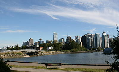 Photograph - Vancouver Skyline by Betty-Anne McDonald