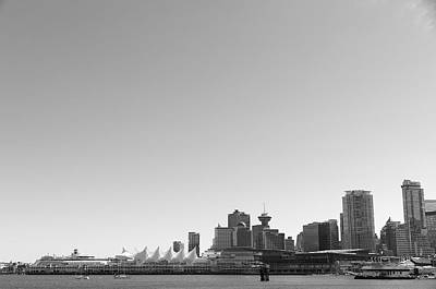Photograph - Vancouver Skyline by Ross G Strachan
