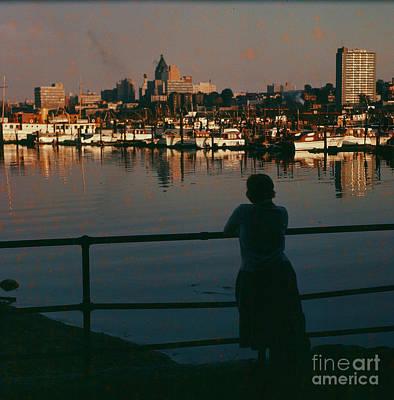 Photograph - Vancouver Skyline by Vintage Photography