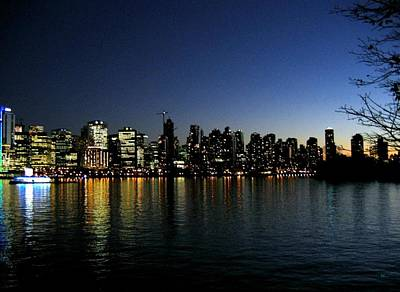 Photograph - Vancouver Skyline by Will Borden