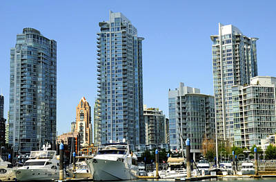 Photograph - Vancouver Waterfront by Brenda Kean
