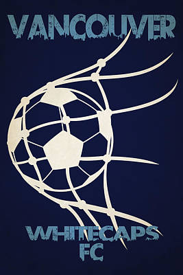 Vancouver Whitecaps Fc Art Print by Joe Hamilton