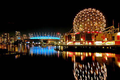 Photograph - Vancouver's Night Offerings by Brian Chase