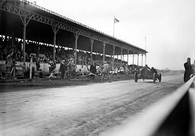 Photograph - Vanderbilt Cup, 1910 by Granger