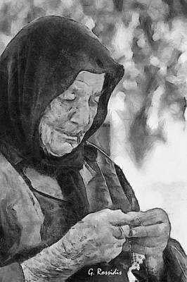 Vangelitsa Art Print by George Rossidis