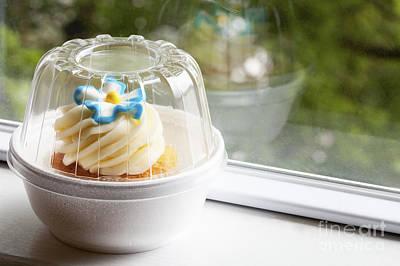 Photograph - Vanilla Cupcake by Diane Macdonald