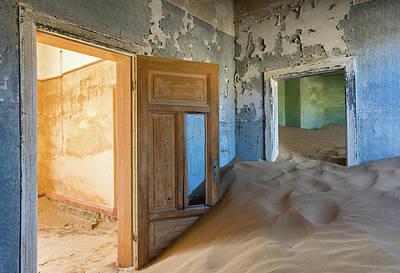 Ghost Town Photograph - Vanish Into Oblivion by Ira Aschermair