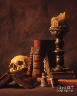 Art Print featuring the photograph Vanitas Still Life by ELDavis Photography