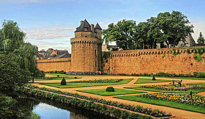 Art Print featuring the photograph Vannes In Brittany France by Dave Mills