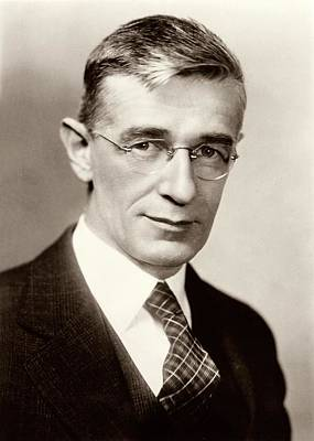 Ewing Photograph - Vannevar Bush by American Philosophical Society