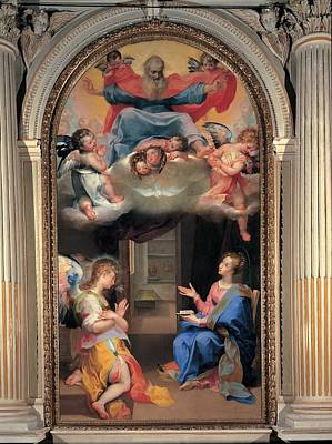 Seraphim Angel Photograph - Vanni Francesco, Annunciation, 16th by Everett