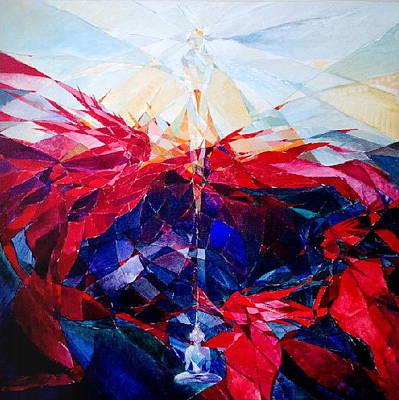Painting - Vanquish by Yogendra  Sethi