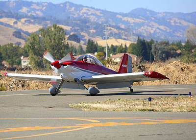 Photograph - Vans Rv-4 N333gt by John King