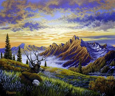Painting - Vantage Point by Vivian Markham