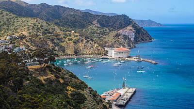 Catalina Island Photograph - Vantage Port by Lauren Goia