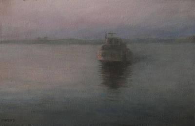 Painting - Vaporetti by Masami Iida