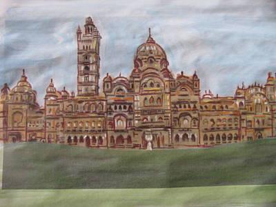 Art Print featuring the painting Varadara by Vikram Singh