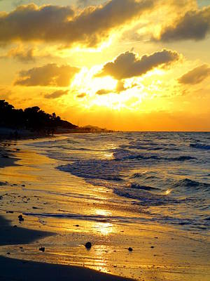 Photograph - Varadero Sunset by Valentino Visentini