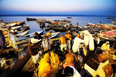 Photograph - Varanasi Dawn by Money Sharma