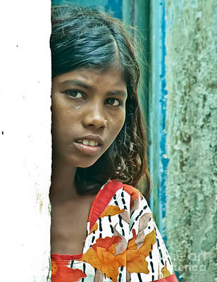 Photograph - Varanasi Girl IIi by Derek Selander