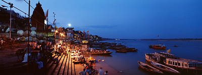 Subcontinent Photograph - Varanasi, India by Panoramic Images