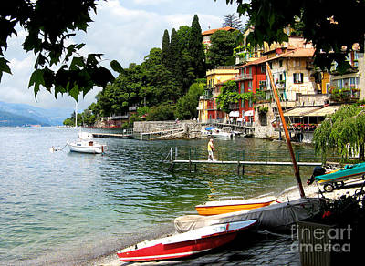 Photograph - Varenna.lake Como by Jennie Breeze