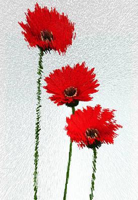 Variation 3 On Three Flowers Original