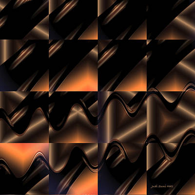 Digital Art - Variations In Brown by Judi Suni Hall
