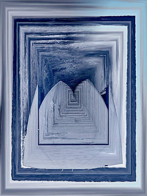 Photograph - Variations Of A Dock Framed And Frozen by Jouko Lehto