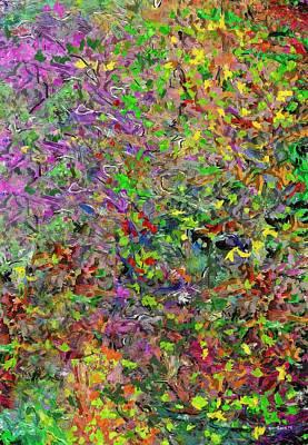Digital Art - Variations On A Theme 1 020714 by David Lane