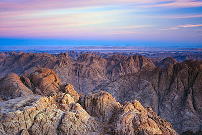 Particoloured Photograph - Varicolored Sunrise In Mountains by Efim Chernov