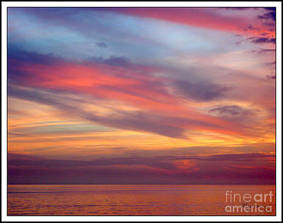 Photograph - Variegated Sky by Mariarosa Rockefeller
