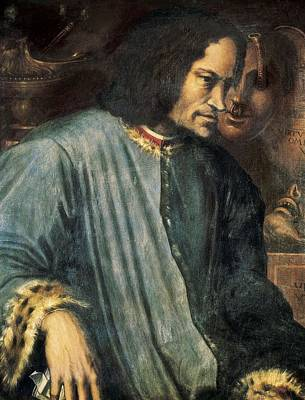 Vasari, Giorgio 1511-1574. Portrait Art Print