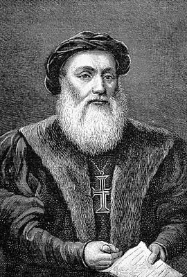 Vasco De Gama Print by Bildagentur-online/tschanz