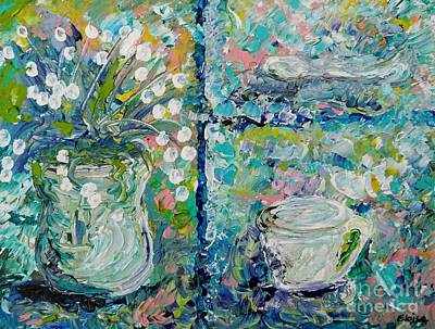 Painting - Vase And Demitasse by Eloise Schneider