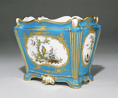 Vincennes Painting - Vase Cuvette à Tombeau, Première Grandeur Painted by Litz Collection