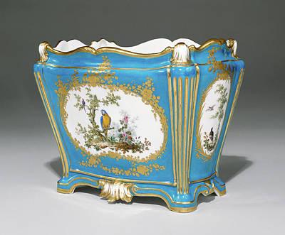 Vase Cuvette à Tombeau, Première Grandeur Painted Art Print by Litz Collection