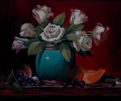Painting - Vase by Rick Fitzsimons