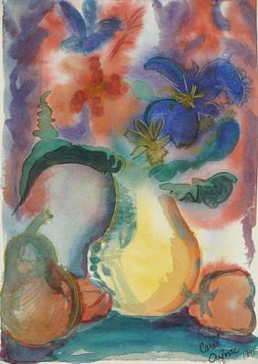 Vase Still Life 1 Art Print